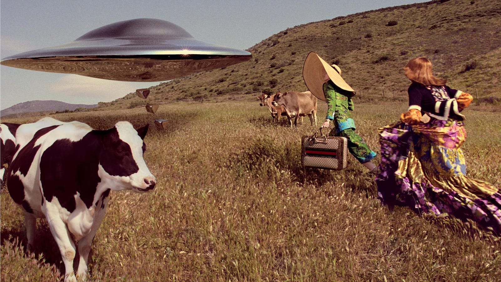 Animal Farm Porn Vintage Movie gucci spoofs star trek in bonkers outer space-themed photo shoot