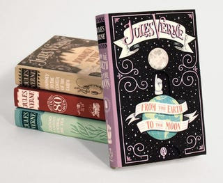 Illustration for article titled Gorgeous New Covers For Jules Verne's Classics