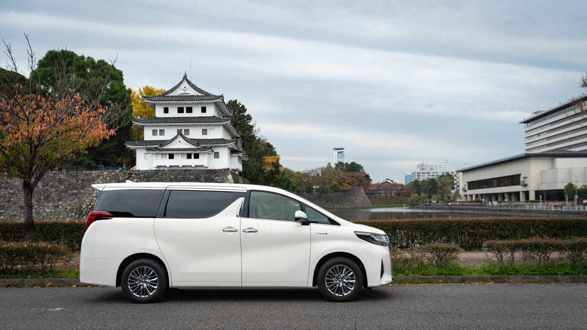 The Toyota Alphard Is the Opulent Luxury Minivan the Rest of