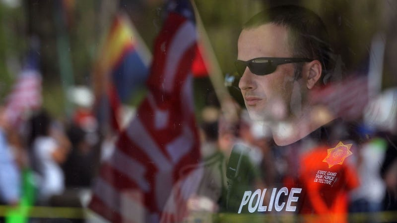 Arizona Republicans want to empower the police to arrest peaceful protestors