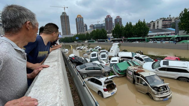 Record Floods Unleash Deadly Destruction Across Central China