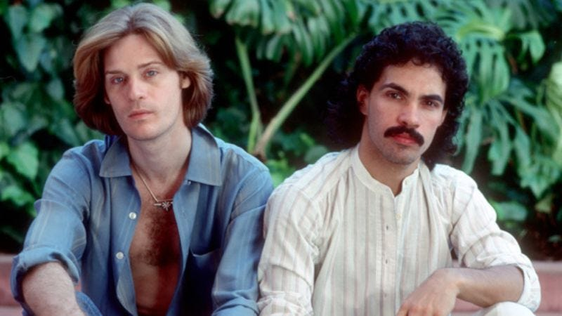 Illustration for article titled Daryl Hall and John Oates