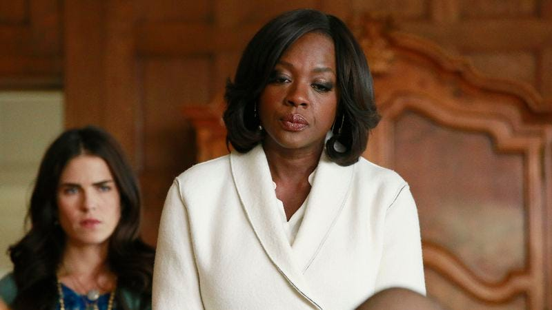 Illustration for article titled How To Get Away With Murder reveals who shot Annalise in carefully plotted midseason finale
