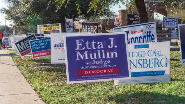 How to Recycle Your Campaign Yard Signs