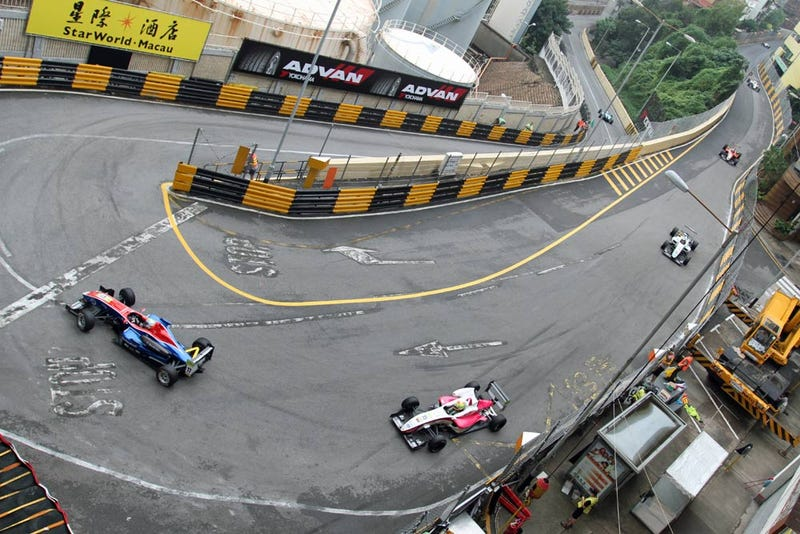 Illustration for article titled Macau is A More Challenging Track Than the Nürburgring Nordschlife