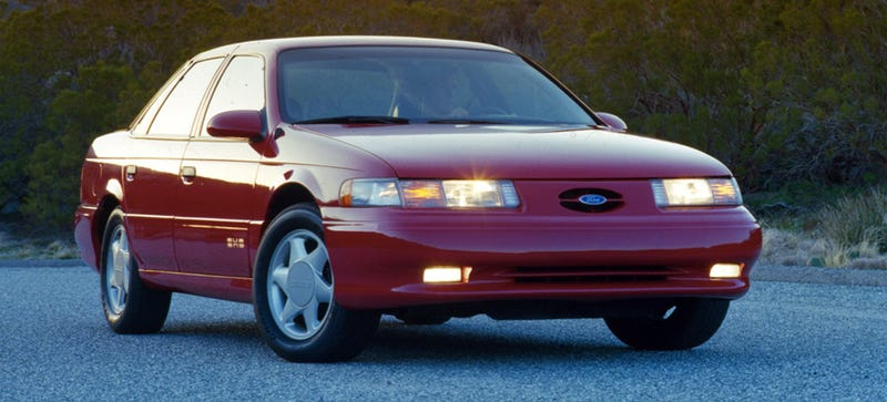 """This is almost """"so ugly it's cool."""" Give it another five years. (Image via Ford)"""
