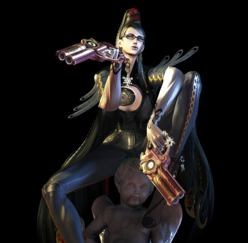 Illustration for article titled Bayonetta Designer, Now Hairy And Hunky