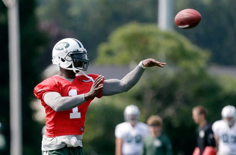 Illustration for article titled Report: Jets Sad That Backup Michael Vick's Cool With Being Backup