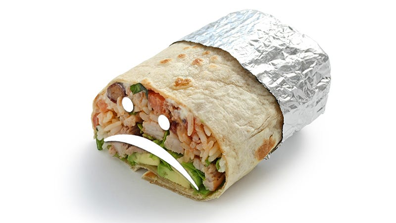 Illustration for article titled I'm Not Saying You're Gonna Get E. Coli If You Go to Chipotle, I'm Just Saying Be Careful