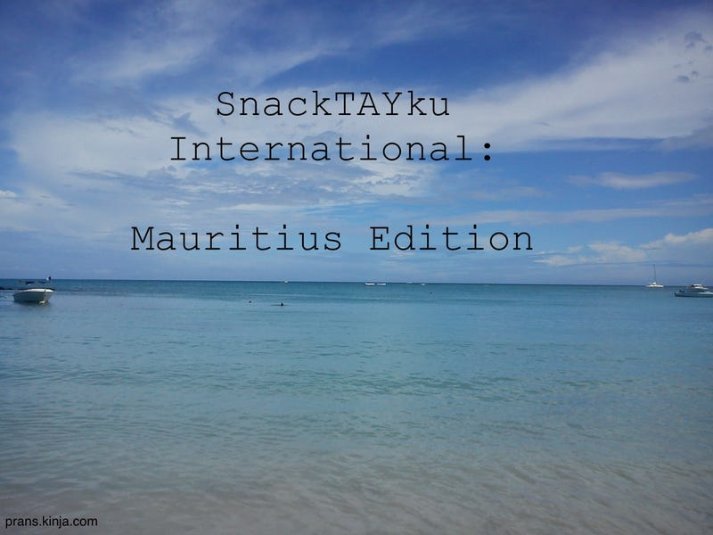 Illustration for article titled SnackTAYku International: Mauritius Edition
