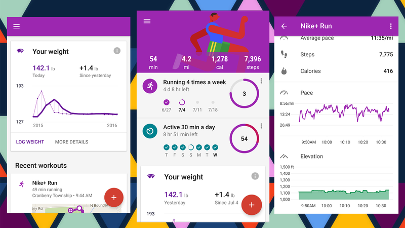 Image result for Google Fit