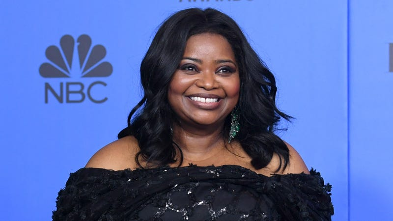 Octavia Spencer poses in the press room during the 76th Annual Golden Globe Awards on January 6, 2019 in Beverly Hills, California.