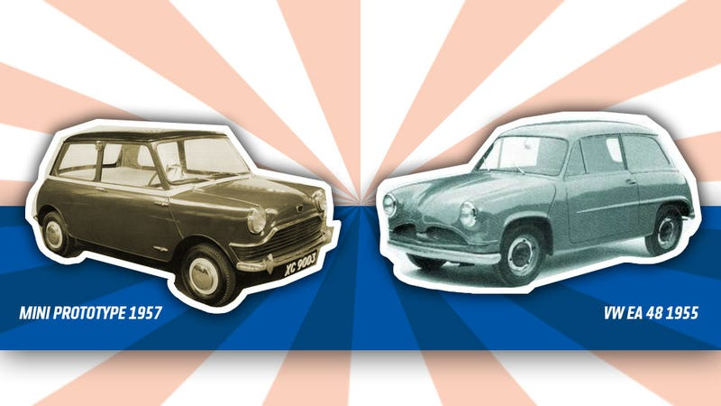 Illustration for article titled VW Almost Designed The Mini Back In 1955