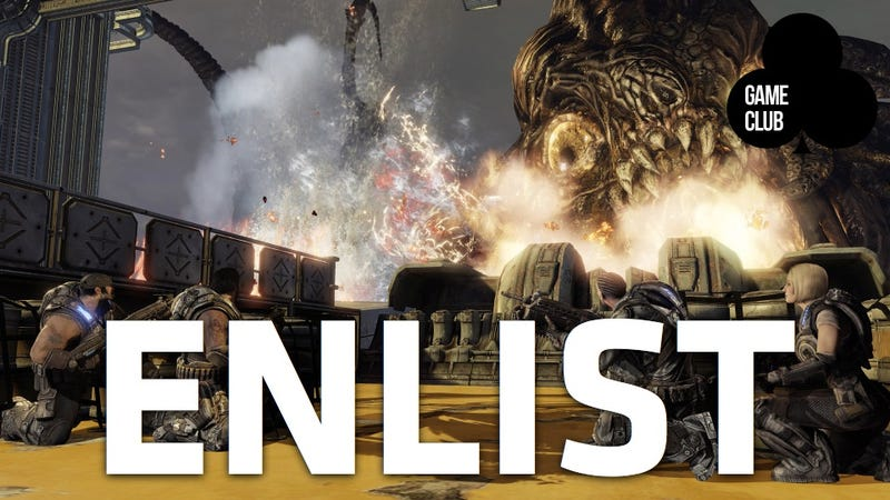 Illustration for article titled The  Kotaku Game Club is Playing Gears of War 3!