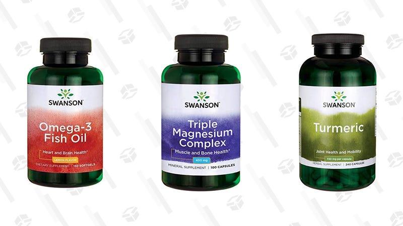 Swanson Health Vitamin and Supplement Gold Box | Amazon