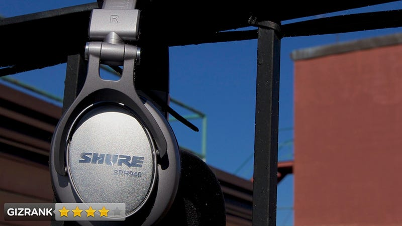 Illustration for article titled Shure SRH-940 Headphones Lightning Review: Serious Bang for the Buck