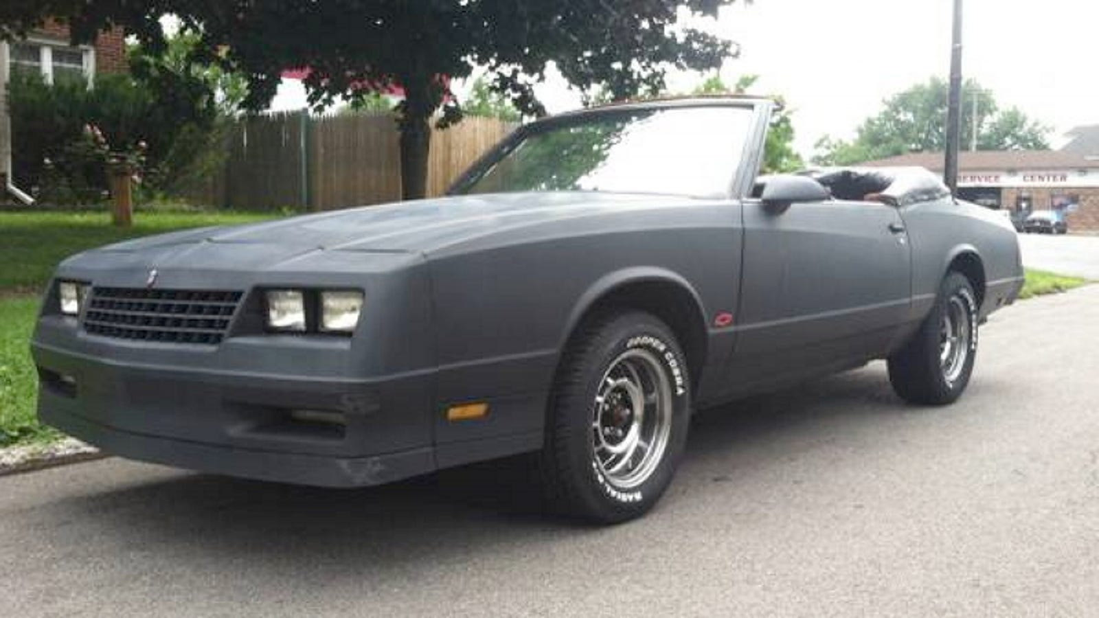 This 1987 Chevy Monte Carlo Lets You Drop The Top and $6,500