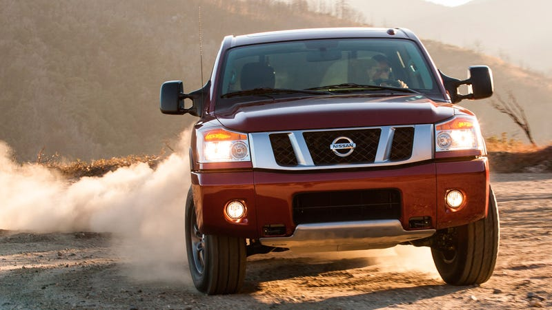 Illustration for article titled Mercedes was going to rebadge the Nissan Titan