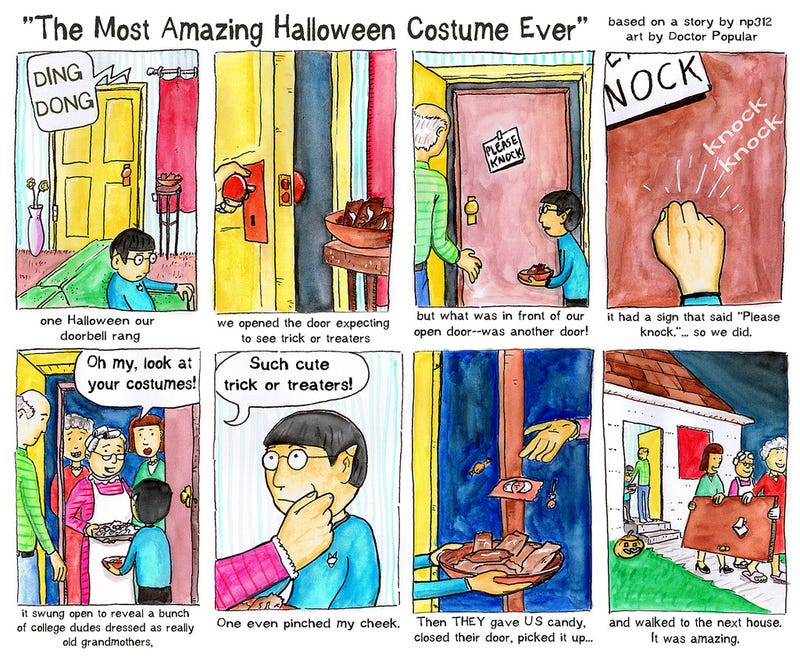 Illustration for article titled The Most Amazing Halloween Costume Ever