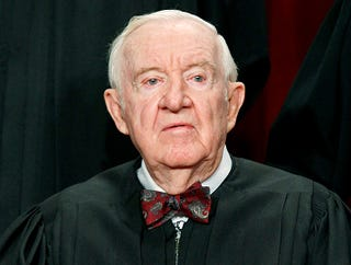 Illustration for article titled Justice Stevens Retires To Spend More Time Dying In Front Of Family