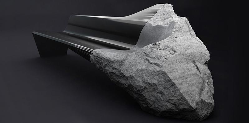 Illustration for article titled De roca volcánica a banco de diseño en un vídeo sin palabras