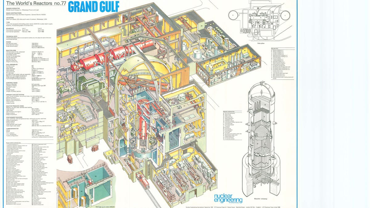 These Vintage Cutaway Drawings Show How Nuclear Reactors Really Work Engine Diagram