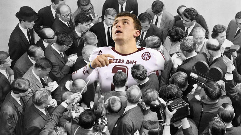 Illustration for article titled America Is Ruining Johnny Football