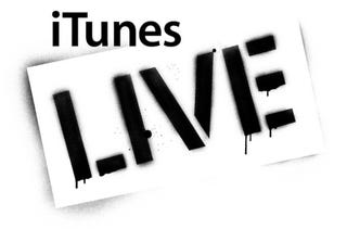 """Illustration for article titled Apple Grabs """"iTunes Live"""" Trademark"""