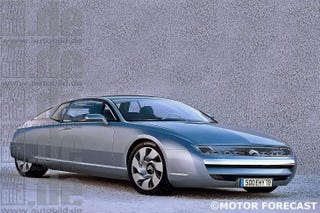 Illustration for article titled Citroen SM 'concept'