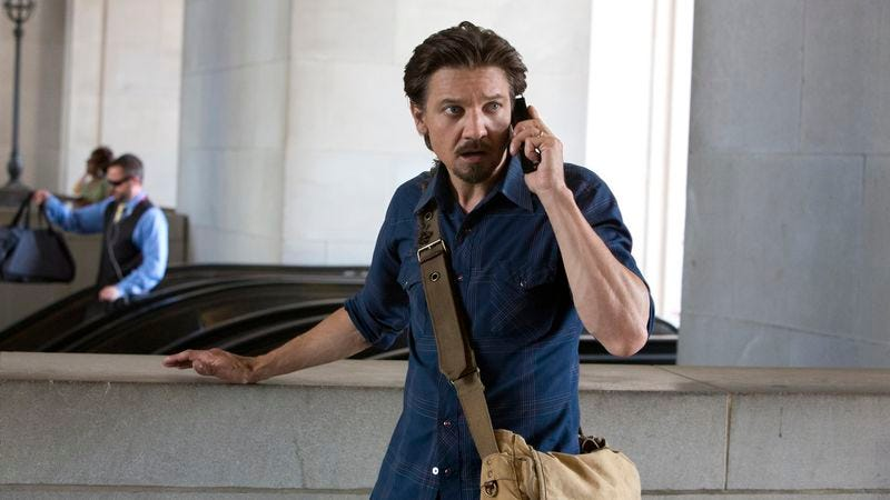 Illustration for article titled Jeremy Renner chases leads in the overly familiar Kill The Messenger