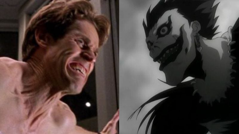 (Images: Spider-Man/Death Note)