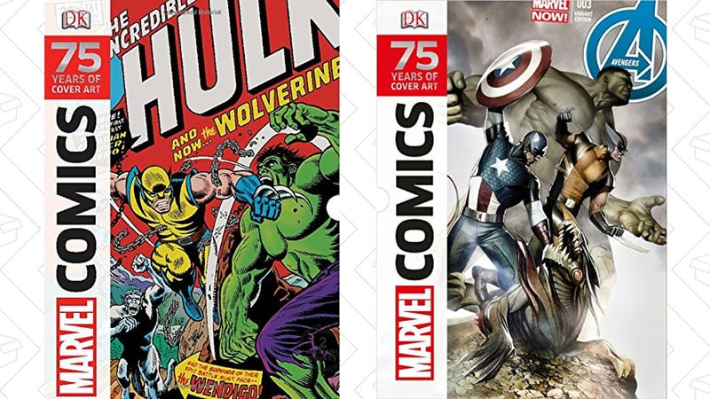 Marvel Comics: 75 Years of Cover Art, $12