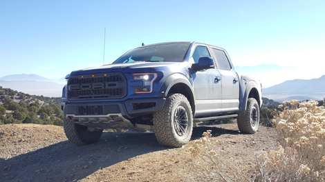 ford raptor   monster  stronger