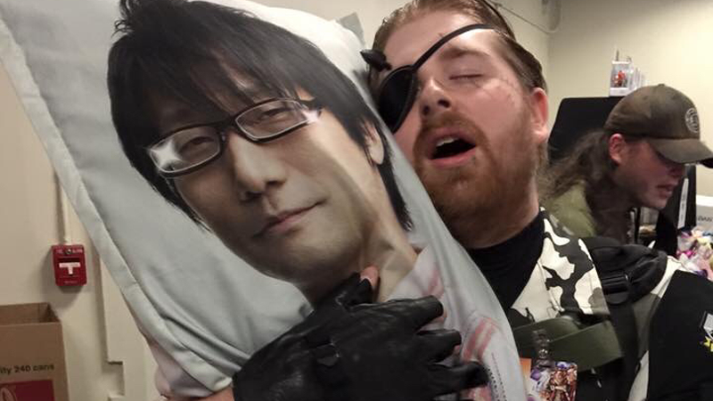 Illustration for article titled Hideo Kojima Hug Pillows Exist