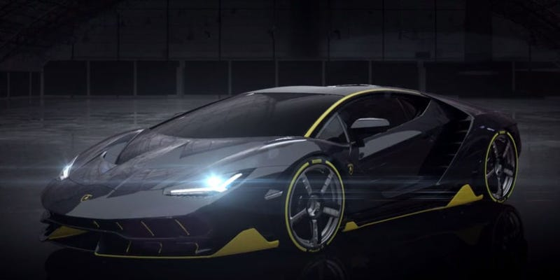 Illustration for article titled El Lamborghini Centenario es una bestia veloz de 770 caballos de fuerza