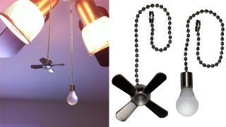 Illustration for article titled Custom Pull Chain Tabs Ensure You Never Accidentally Turn On the Fan
