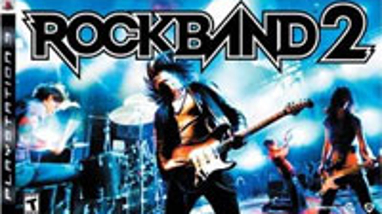 Rock Band 2 Dated For PS3, PS2, Wii