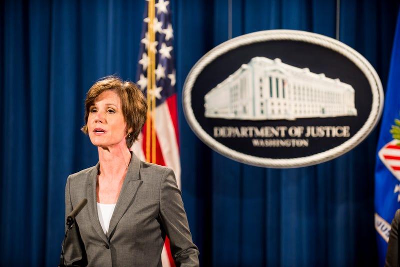 Deputy U.S. Attorney General Sally Yates Pete Marovich/Getty Images