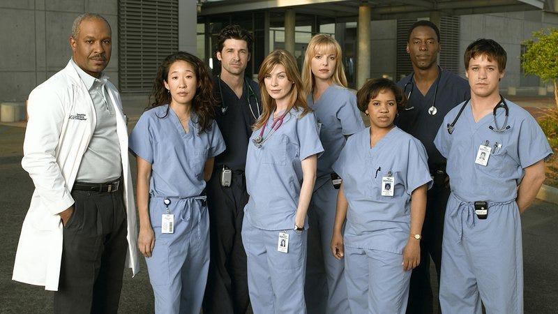 Grey's Anatomy cast.