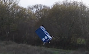 Illustration for article titled The day the Tardis crashed