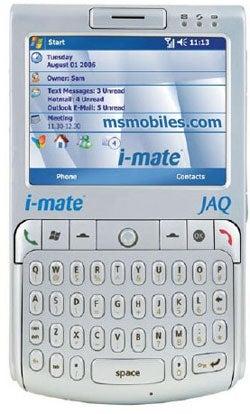 Illustration for article titled i-Mate JAQ Windows Mobile Smartphone - Rebadged HTC Excalibur?
