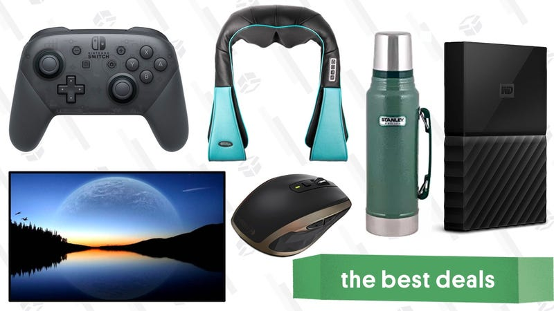 Illustration for article titled Thursday's Best Deals: PC Accessory Sale, Stanley Mugs, Logitech Mouse, and More