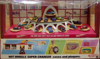 Illustration for article titled Hot Wheels 50th Anniversary 16 Cars Display Set