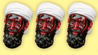 Illustration for article titled Elárverezik a CIA démoni bin Laden-figuráját