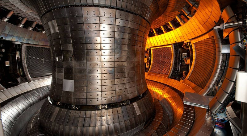 Illustration for article titled Proponen reducir la contención en los reactores de fusión para aumentar su potencia