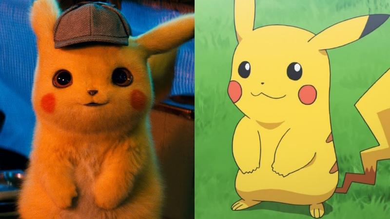 Illustration for article titled Película vs anime: así son los pokémon realistas de Detective Pikachu