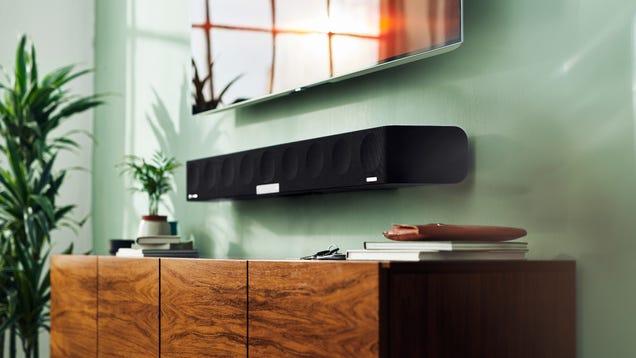 Sennheiser s Bonkers 3D Soundbar Goes on Sale This Year for a Bonkers Amount of Money