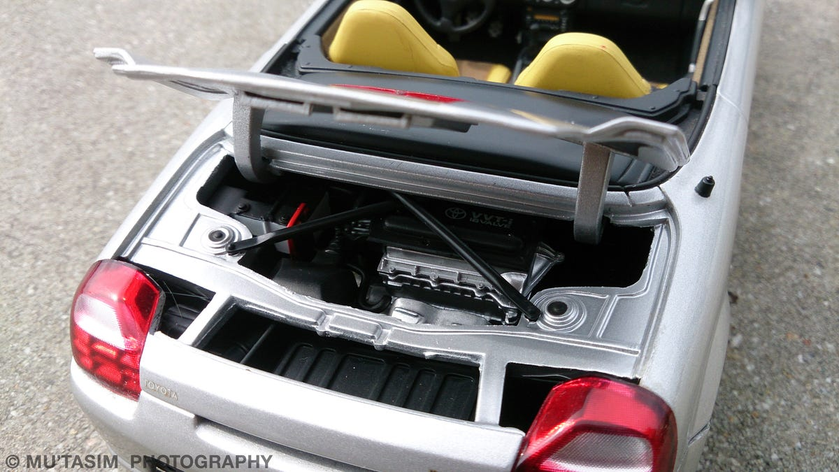 mr2 spyder engine cover