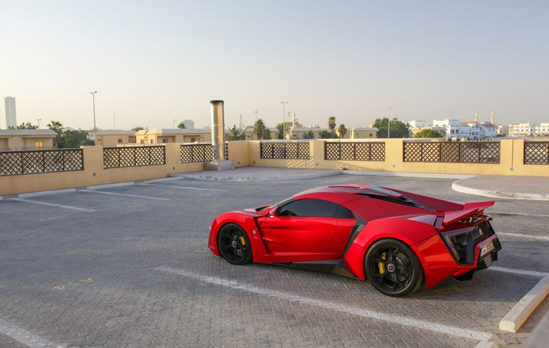 The 750 Horsepower Lykan Hypersport Looks Happiest Chilling In The