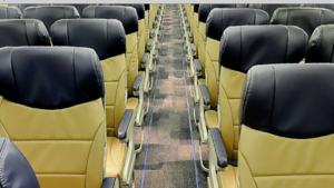 Illustration for article titled The Future of Air Travel Will Have Even Less Legroom